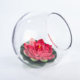 Glass Rose Bowl - Large