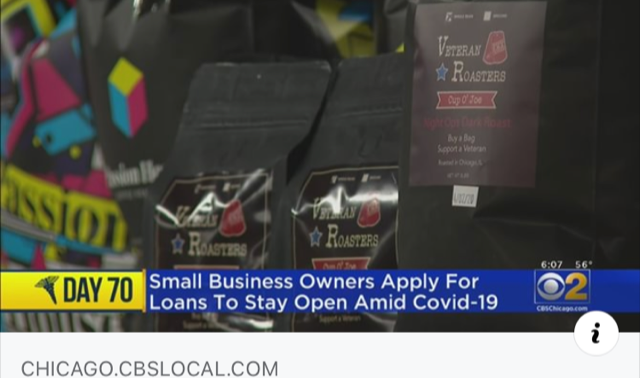CBS Chicago Highlights Veteran Roasters