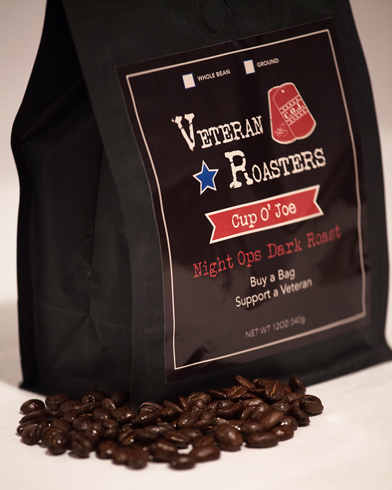 Case (6) Bags Night Ops Roast 12oz