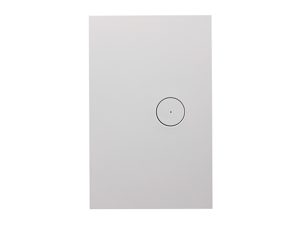 Clipsal Saturn Zen Light Switch - 1 Gang