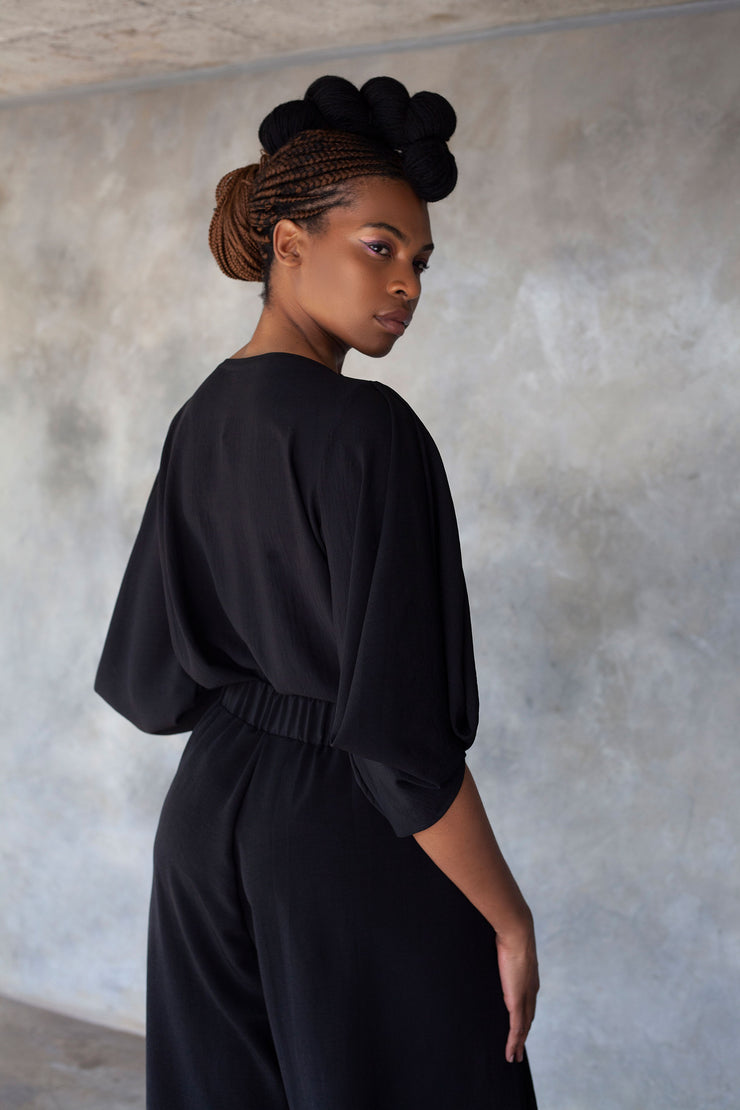 ERRE black power sleeve blouse