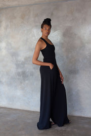 ERRE black wide leg pants