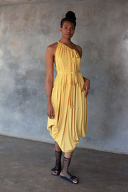 ERRE yellow Myri multiway dress