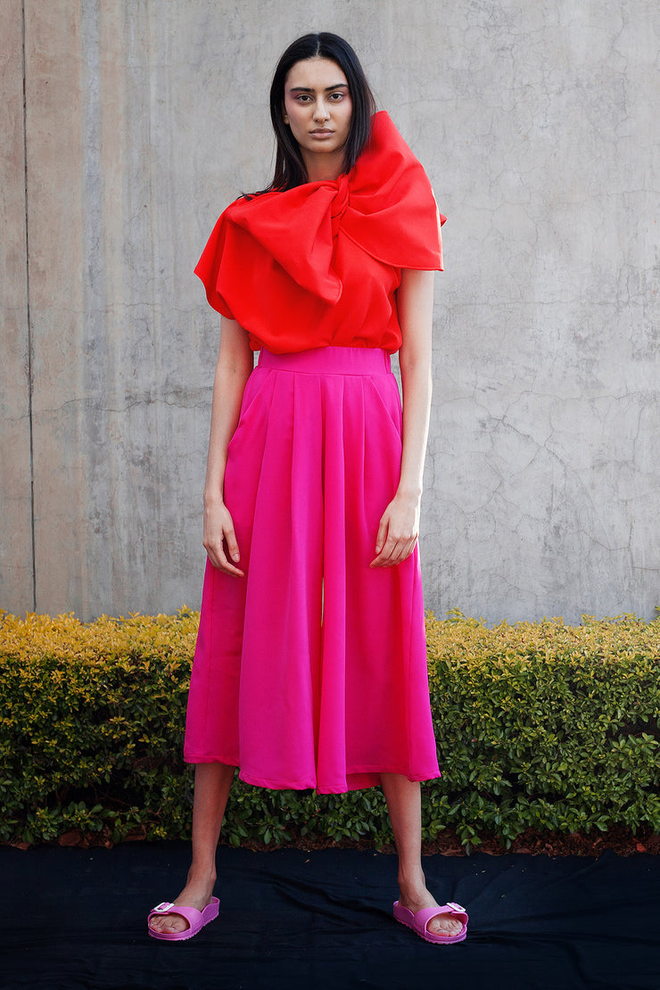 ERRE Pink Flow culottes