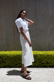 ERRE FLOW culottes in white