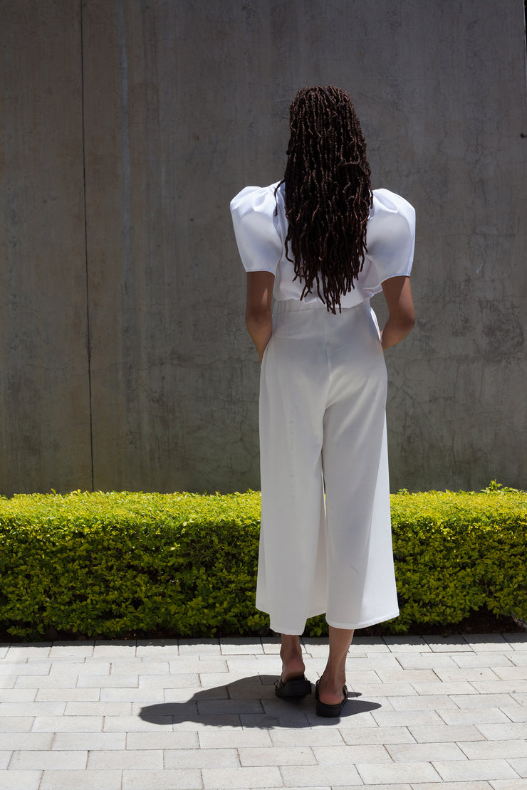 White FLOW - Culottes