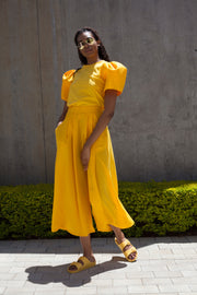 ERRE FLOW culottes in yellow