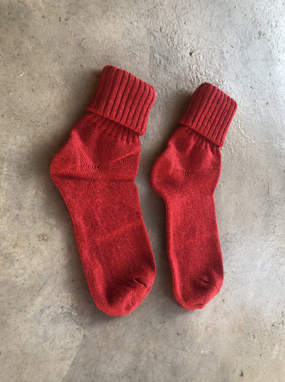 Mohair Kick Back Socks - Ladies