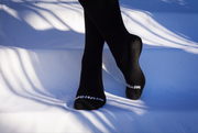 Black Mohair Good Shape Socks - Unisex