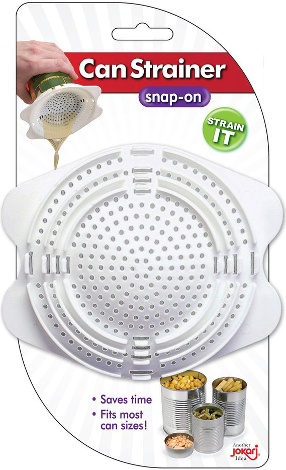 JOKARI CAN STRAINER - SNAP ON