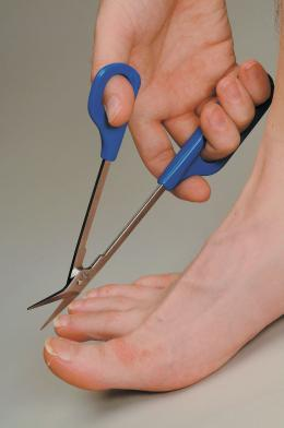 EASI GRIP CHIROPODIST SCISSORS
