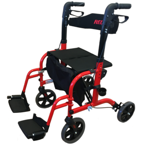 REDGUM DUAL PURPOSE APPOINTMENT WHEELCHAIR/SEAT WALKER