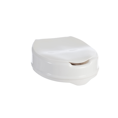 ASPIRE TOILET SEAT RAISER WITH LID