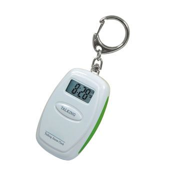 KEY CHAIN TALKING ALARM CLOCK