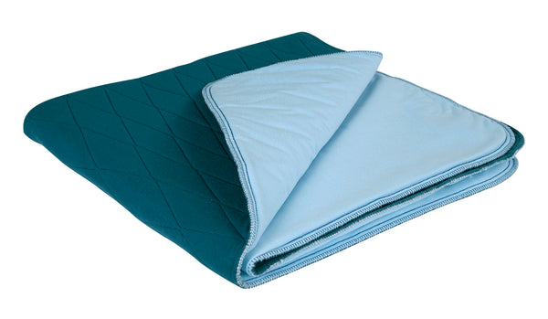 BLUE-E BED PAD WITH WINGS
