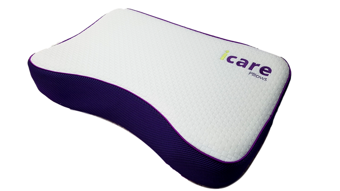 pillow, icare, curve pillow, side pillow