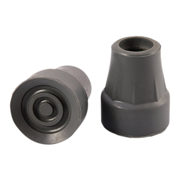 CRUTCH TIP 22MM GREY