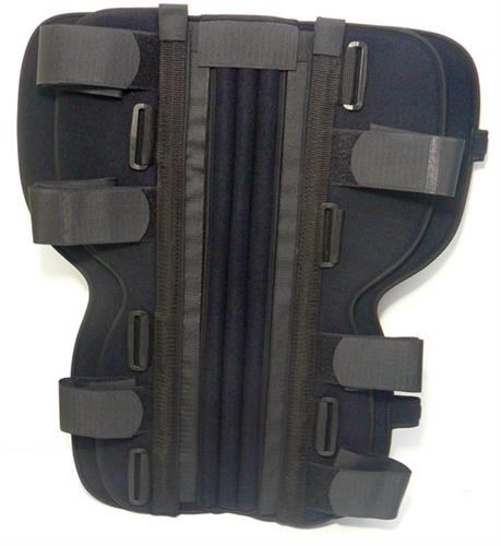 knee brace, knee immobiliser, knee support, knee, brace
