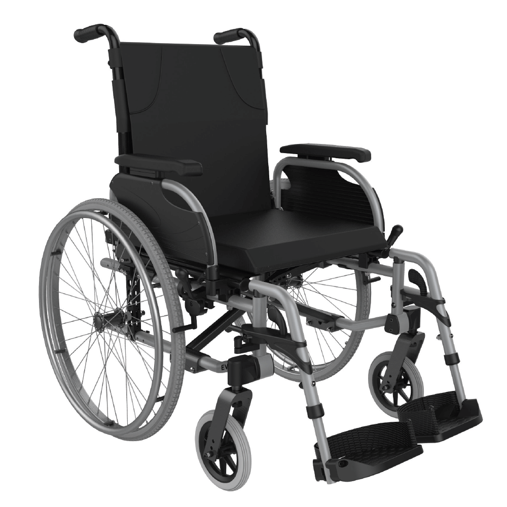 wheelchair, self propelled, aspire, evoke 2