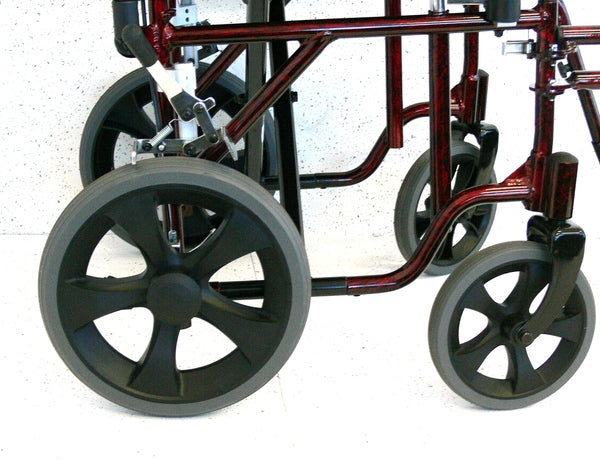REDGUM DELUXE  WHEELCHAIR 22""
