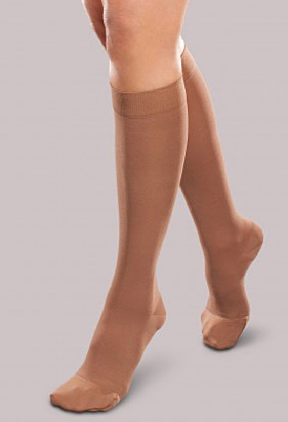 THERAFIRM COMPRESSION STOCKING - KNEE HIGH