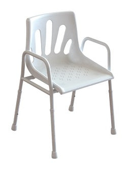 shower chair, redgum, chair, shower, aluminium