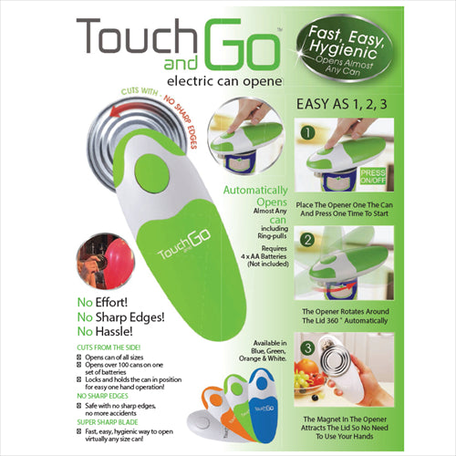 TOUCH AND GO ELECTRIC CAN OPENER