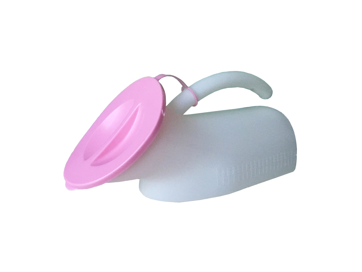 FEMALE URINAL WITH LID