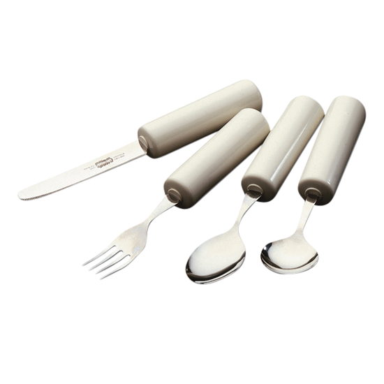 cutlery, queens cutlery, knife, fork, spoon, arthritis