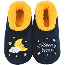 SLUMBIES SLIPPERS - SLEEPY HEAD