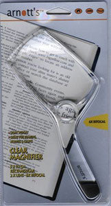 MAGNIFIER GLASS - RECTANGULAR