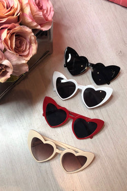 image 1 of HEART SUNGLASSES 4 COLOURS