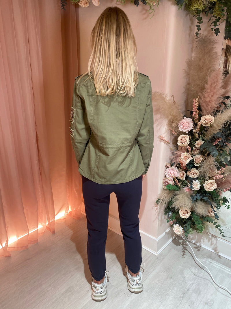 JOJO DENIM JACKET KHAKI