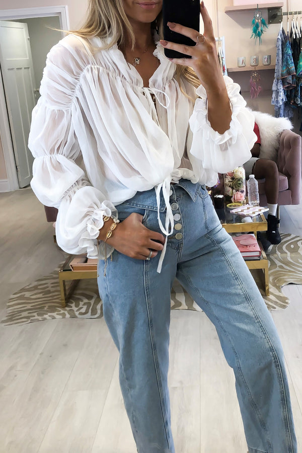 CANDY BLOUSE WHITE