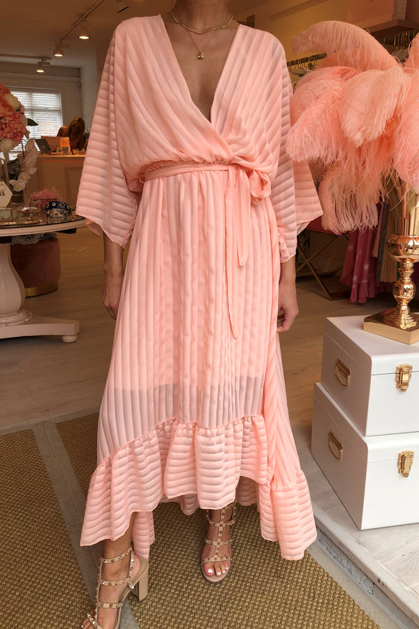 SAMMI BLUSH PINK MAXI DRESS