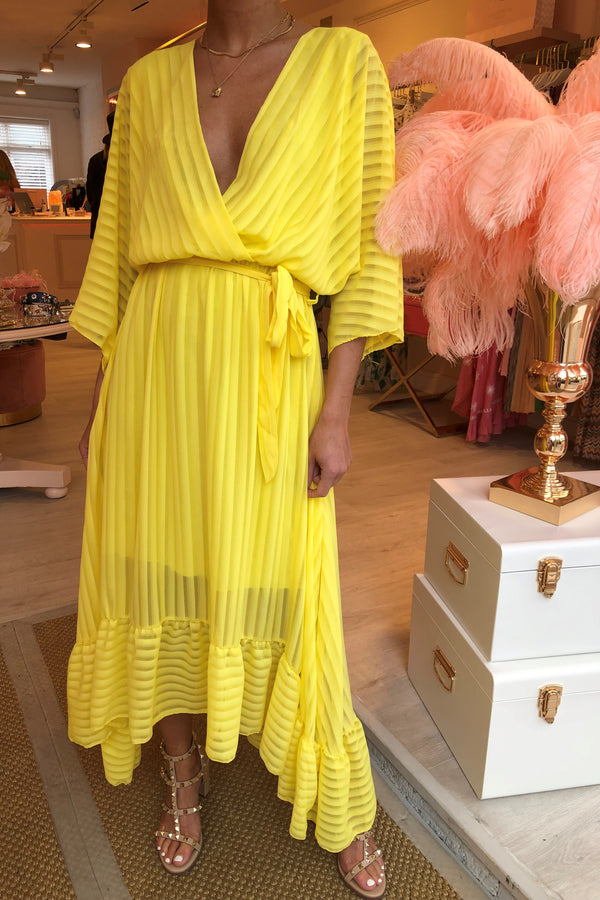 SAMMI YELLOW MAXI DRESS