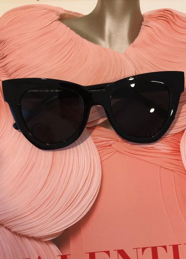 image 1 of IVY BLACK SUNGLASSES