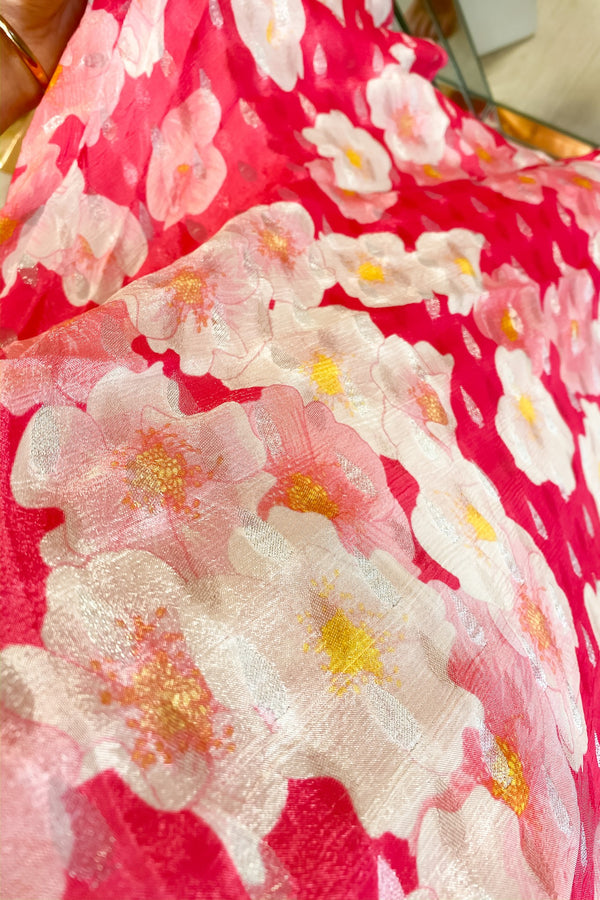 PREEN PINK AND WHITE DAISY PRINT DRESS
