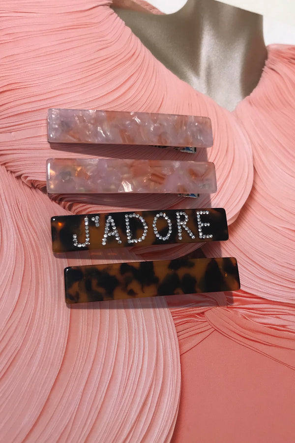 J'ADORE 4 PIECE HAIRSLIDE PACK