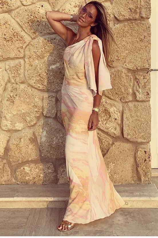 JAYDE JEFFERIES SUMMER SOUL MAXI DRESS