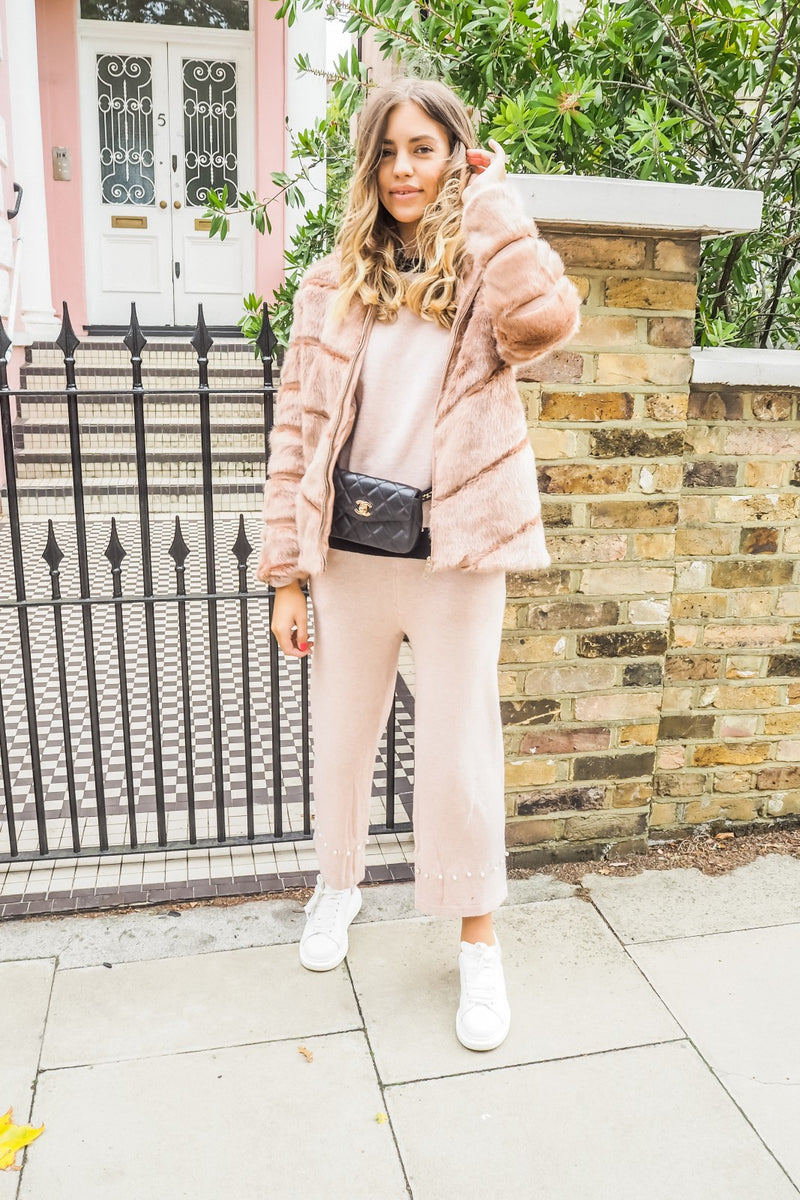 image 3 of BLUSH STREET CHIC FAUX FUR COAT