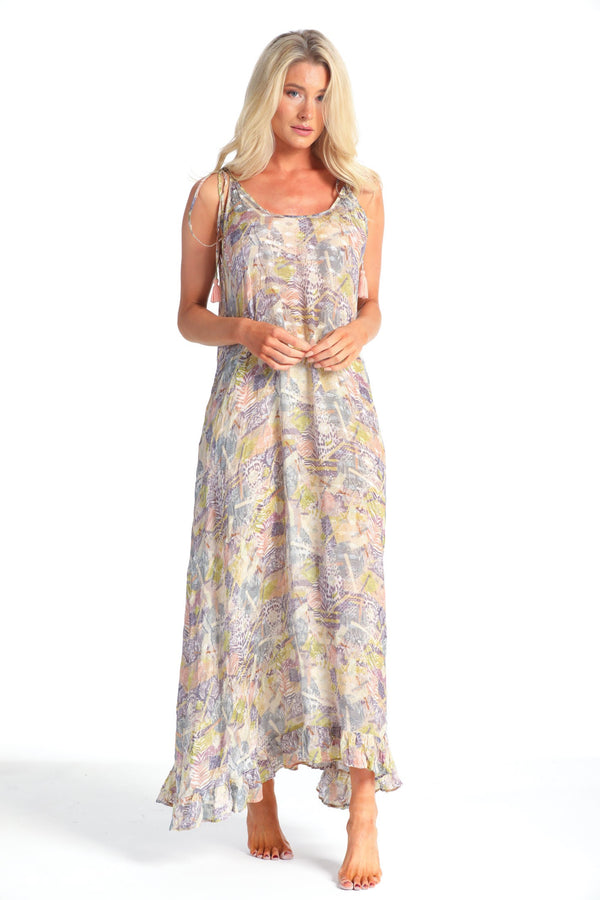 ROSA DESERT SAFARI MAXI DRESS