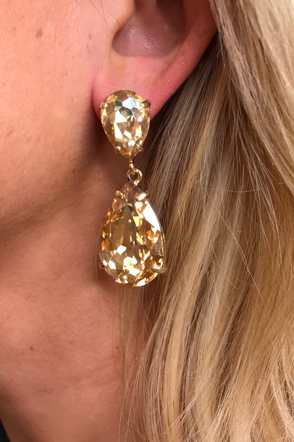 GOLD SMALL DROP EARRINGS