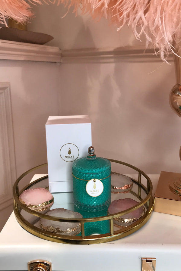 NALYS TURQUOISE CANDLE