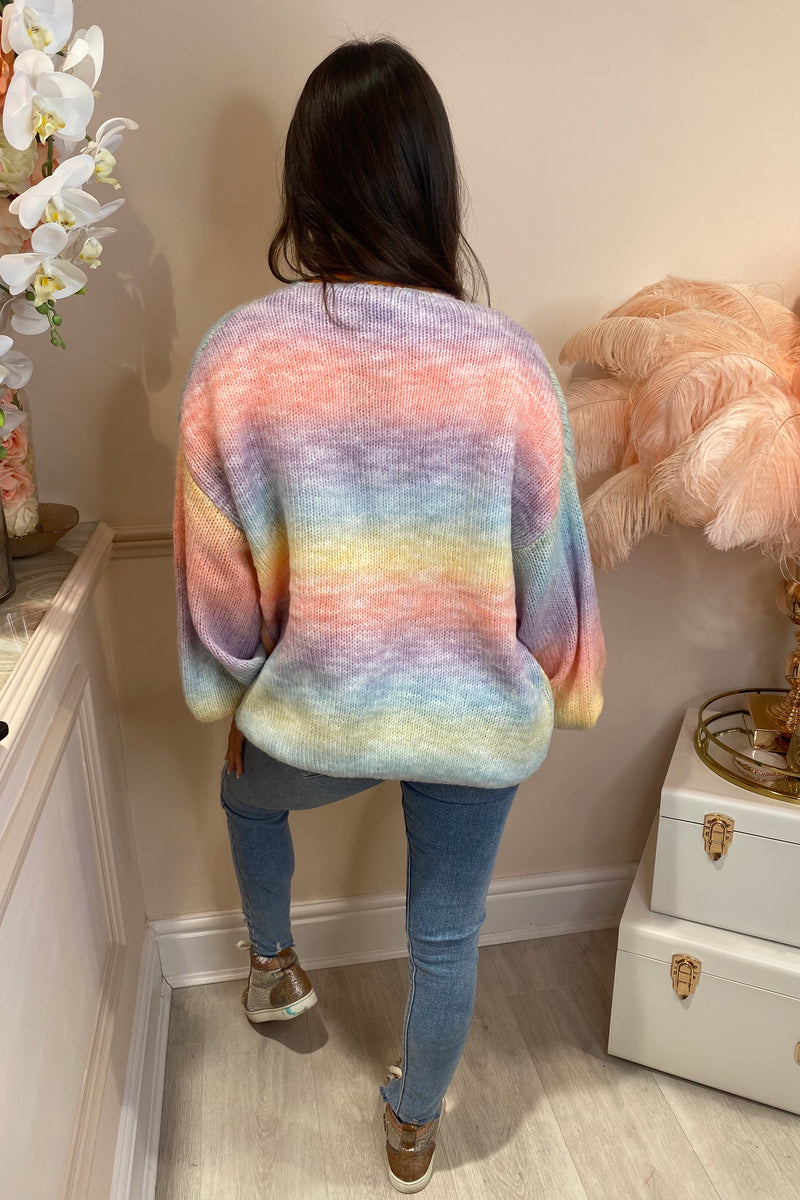 SALLY PASTEL KNIT CARDIGAN
