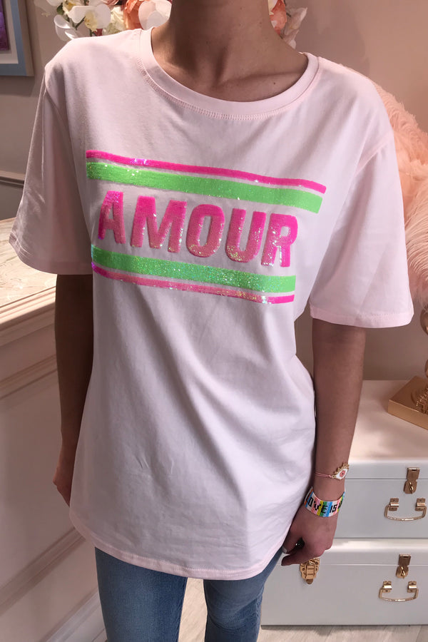 AMORE T SHIRTS 3 COLOURS