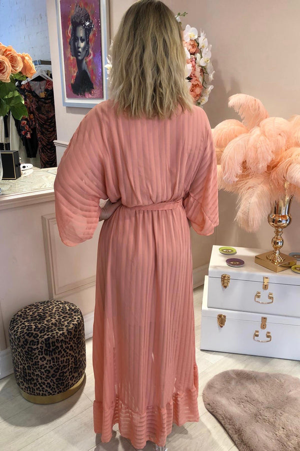 VASILINA DUSTY PINK MAXI DRESS