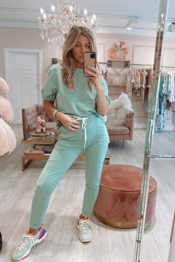 CHRISTY SS TRACKSUIT MINT