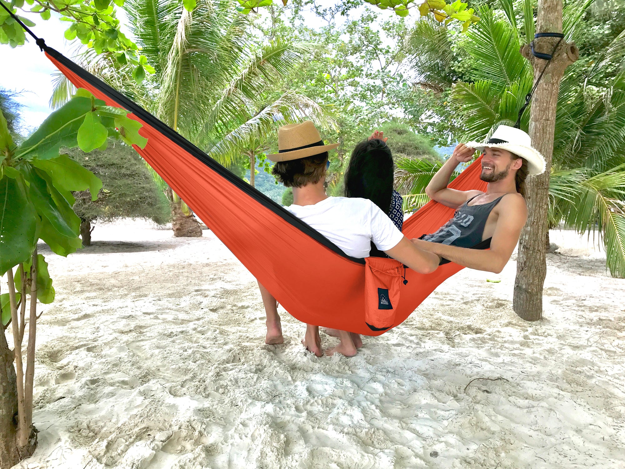 Double Portable Camping Hammock 118 78 With Hammock Straps And
