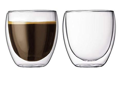Bodum Pavina Double Wall glass 0.08L 2pk